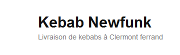 kebab clermont ferrand newfunk pour vos livraisons de kebabs. Black Bedroom Furniture Sets. Home Design Ideas